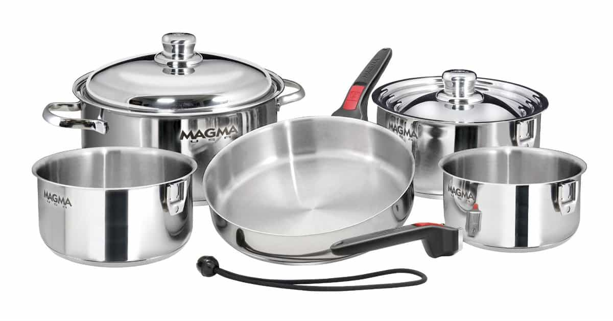 best pots and pans for rv
