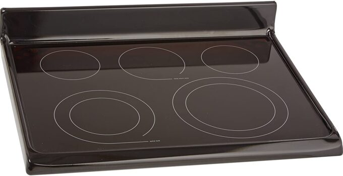 what should not be used on glass top stove?