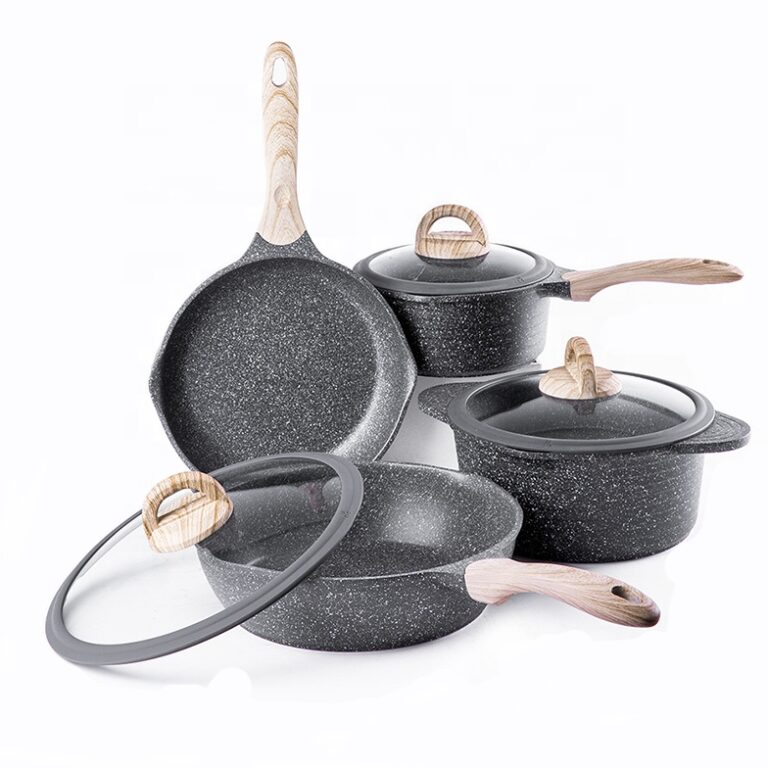 what is granite cookware made of